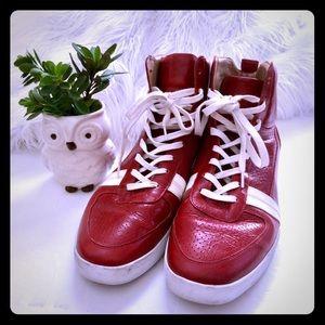 Creative Recreation Men's Red hi cut shoes Sz 12